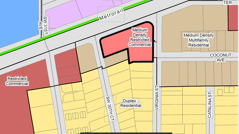 "Keep Coconut Grove residential neighborhood from becoming ""Medium Density Commercial"""
